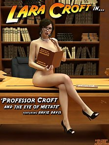 Professor Lara Croft Takes Primary Fucking Test With Blistering Student!