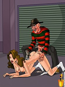 Freddy Krueger Has Some Dream Fantasies of His Own
