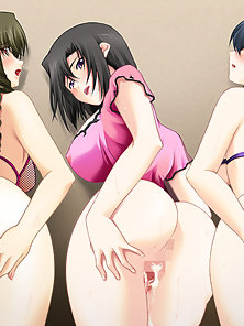 Hottest Naughty Anime Chick Rides and Pounded Hard