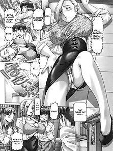 Giant Boobs Hentai Babe Display Her Hottest Stylish Body in Naughty Styles