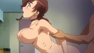 Ecchi Episode 1 Some nice anime doggy style sex