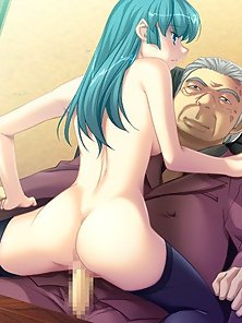 Anime Teen Humping Her Uncle's Dick Deeply