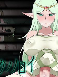 Bust elf princess gets fucked by huge cocked futa orc