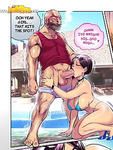 Cheating mom gets forced to take her son's dick in her asshole - dirty comics