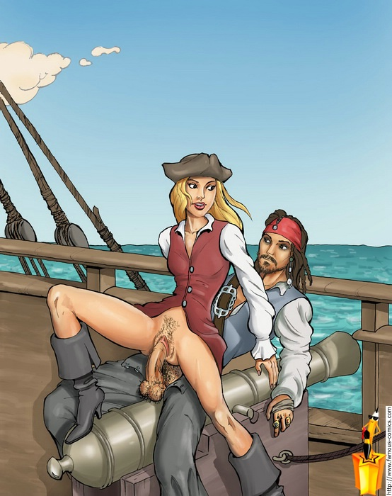 Pirates of the caribbean porn hot