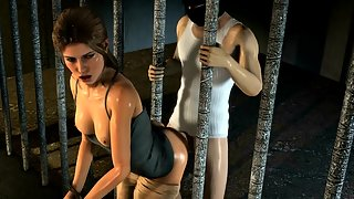 Compilation of Lara Croft getting fucked by lots of cocks