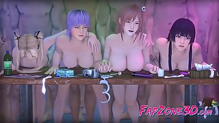 Video Games Girls Fuck in Every Hole in dirty orgies - hmv