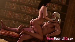 The witcher girls in sexy compilation getting fucked by Geralt