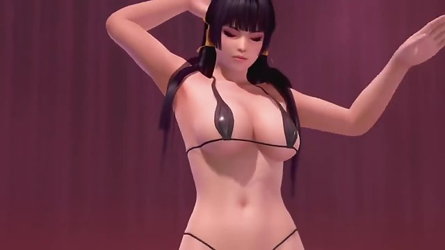 Hotties from dead or alive fuck in this ASMR compilation ...