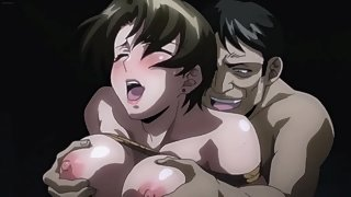 Hot track coach gets tied up and used like a fuck toy by hentai guys