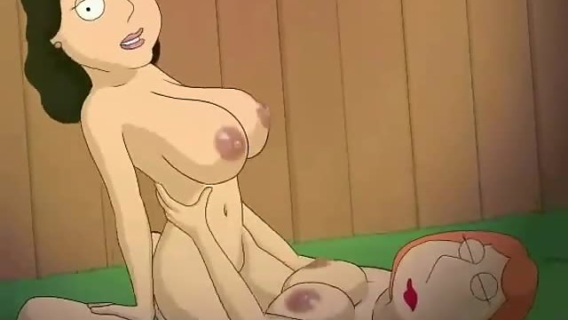 Anime Xxx Toys - Horny cartoon lady Lois Griffin hungry for pussy