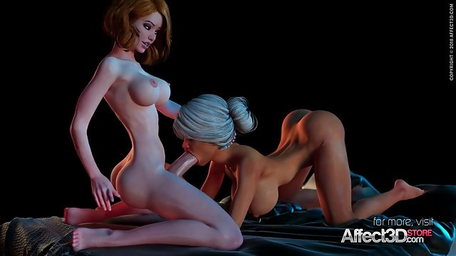 3d Cartoon Monster Creampie